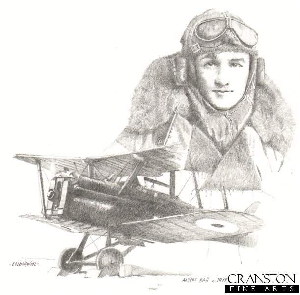 CCP64P. British Ace Albert Ball c.1917 by Chris Collingwood.