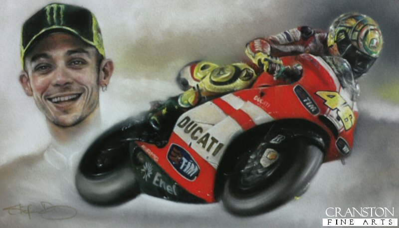 valentino rossi art Photo