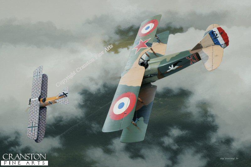 Spad S.XIII WW1 Aviation Prints