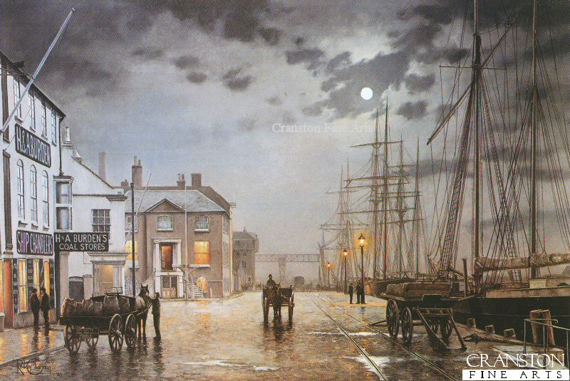 Poole quay by gaslight by rodney charman for Original photography for sale