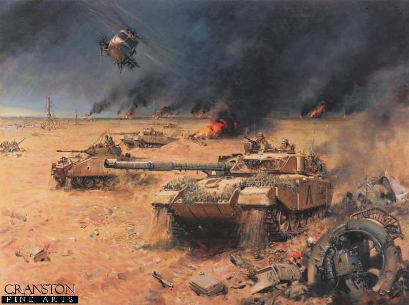 Army challenger operation desert storm 1991 gulf war by terence army challenger operation desert storm 1991 gulf war by terence cuneo sciox Image collections