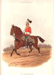 1st Dragoons by Richard Simkin.