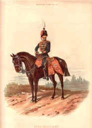 10th Hussars by Richard Simkin.