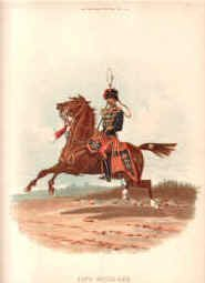 11th Hussars by Richard Simkin.