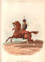 11th Hussars by Richard Simkin (P)