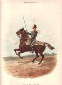 13th Hussars by Richard Simkin.