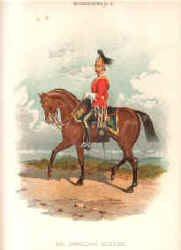 2nd Dragoon Guard by Richard Simkin. (P)