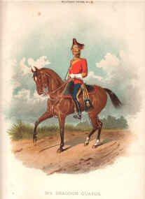 3rd Dragoon Guard by Richard Simkin (P)