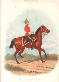 4th Dragoon Guards by Richard Simkin.