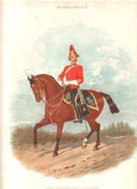5th Dragoon Guards by Richard Simkin (P)