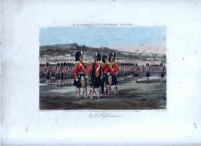 93rd Highlanders on Parade by J Harris after Henry Martens