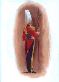 Gentleman at Arms (Rear View) by John Charlton (P)