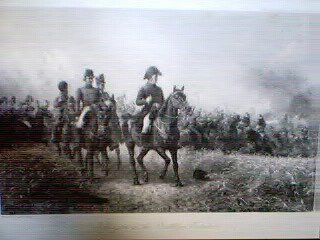 Wellington at the Battle of Waterloo by John Schonberg.