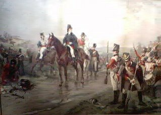 Wellington During the Battle of Waterloo by Robert Hillingford.