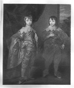 The Second Duke of Buckingham and His Brother by Sir Anthony Vandyke.