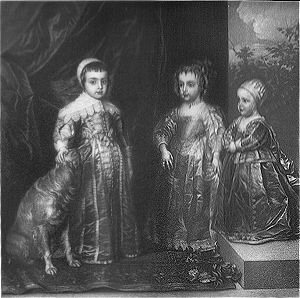 The Children of Charles I by Sir Anthony Vandyke.