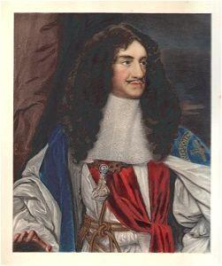 Charles II by Samuel Cooper.