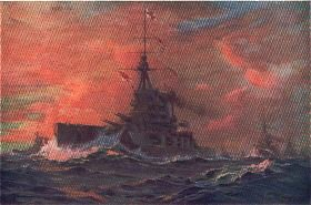 A Squadron of Battleships by Maurice Randall.