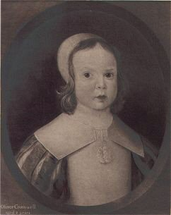 Oliver Cromwell Aged Two Years.