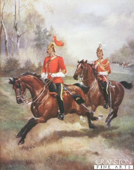 1st Kings Dragoon Guards by Harry Payne.