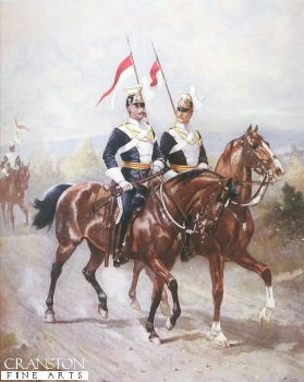 The Advance Guard of the 17th Lancers by Harry Payne.