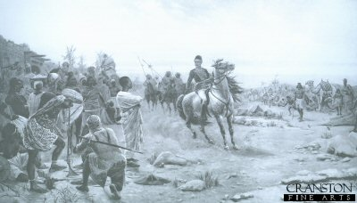General Gordon Quelling a Riot at Darfur by Stanley Berkeley.