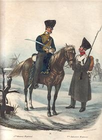 5tes Husaren Regiment  / 2tes Infanterie Regiment (P)