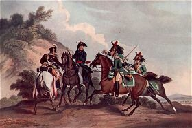 Capture of General Paget 1812 by Dubourg after Atkinson