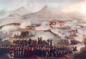 Battle of Toulouse, April 10 1814 by T Sutherland after W Heath
