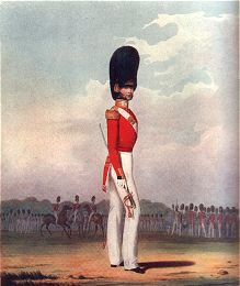 Officer, Grenadier Guards by L Mansion & St Eschauzier (P)