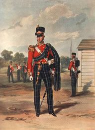 The 74th Highlanders (2nd Battery Highland Light Infantry) by J Harris after H Martens 1853