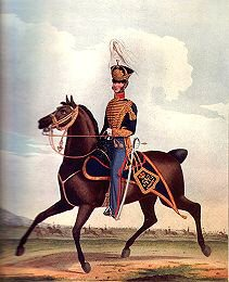Officer of the Royal Artillery (Horse Brigade) by L Mansion & St Eschauzier (P)