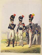 Grofsherzogthum - Meklenburg Schwerin Grenadier Garde (P)