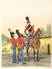 Herzogthum - Holstein Leib Dragoner Regiment (P)