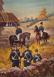 US Army Infantry and General Officers 1813-1821 by Werner (P)