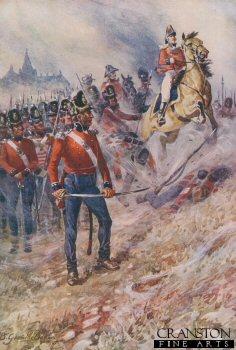 Sir John Moore at Corunna, January 16th 1809 by B Granville Baker