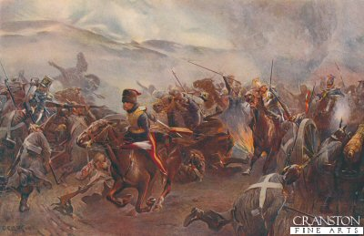 Balaclava, October 25th 1854: The Charge of the Light Brigade by Christopher Clark.
