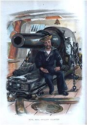 Royal Naval Artillery Volunteer by Christian Symons (P)