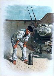 At the Breechloading Gun by Christian Symons (P)