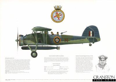 Fairey Swordfish Mk I W5984 H. by M A Kinnear.