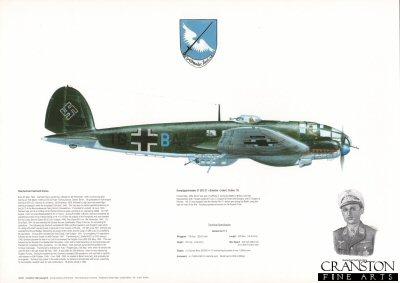 Kampfgeschwader 27 (KG 27 Boelcke) Ident codes 1G. by M A Kinnear.