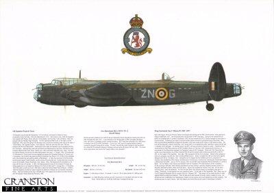 Avro Manchester Mk Ia R5770 ZN - G. by M A Kinnear.