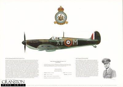 Vickers Supermarine Spitfire Mk Ia X4277 XT-M. by M A Kinnear.