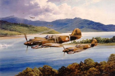 Chennaults Flying Tigers by Robert Taylor.
