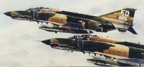 Phantoms F-4 by R E Pierce. (P)