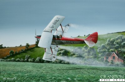 Crop Culture - Tiger Moth by Ivan Berryman.