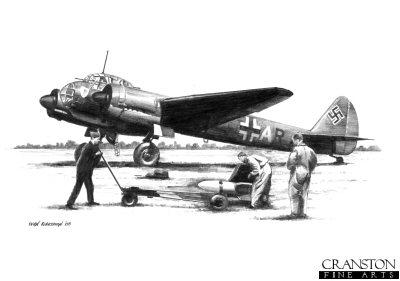 Ju88A-4 of KG.30 by Ivan Berryman. (B)