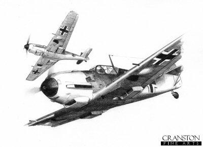 JG52 - Summer 1940 by Ivan Berryman.