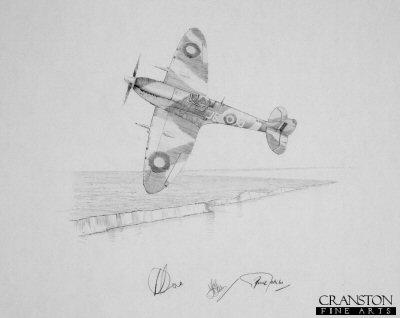 Spitfire - Fighting Lady by Graeme Lothian. (P)