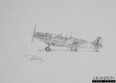 Spitfire Maintenance Check by Graeme Lothian. (P)
